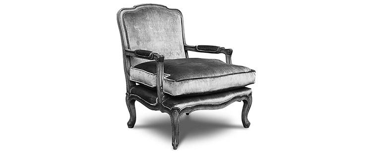 French Provincial - Bergere Chair