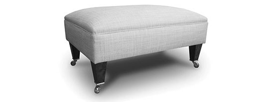 Ottomans and Stools - Run-up Footstool